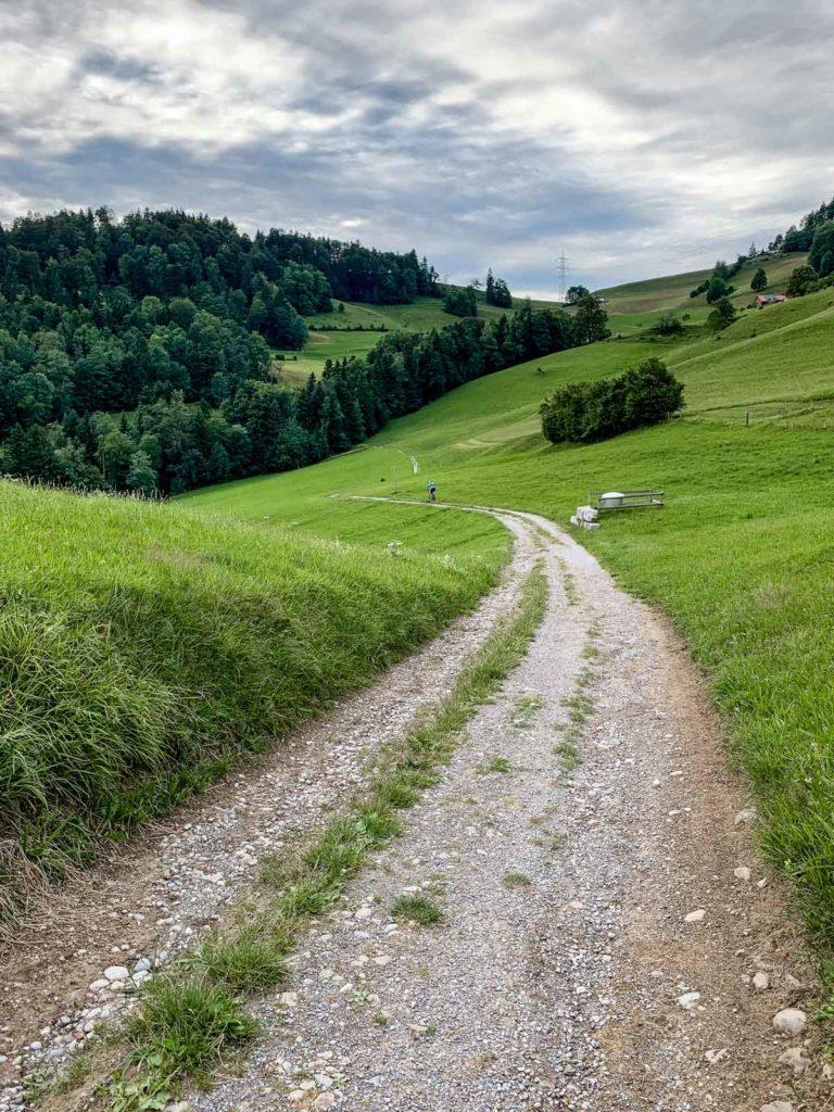 Der Weg zur Höhenklinik