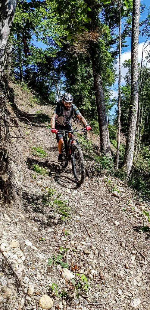 Downhill nach Steg